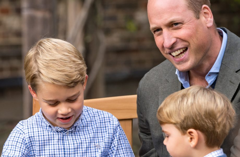 Prince William, Prince George and Prince Louis