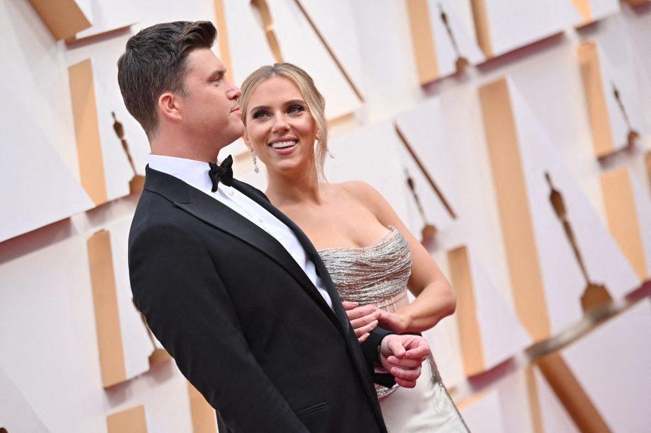 Scarlett Johansson married