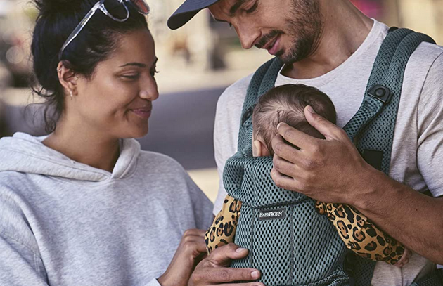 Babybjörn Baby Carrier Move, 3D Mesh, Sage Green