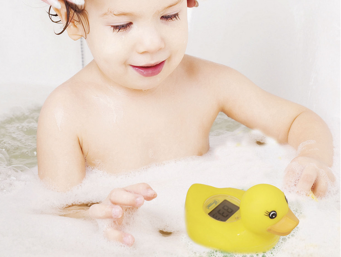 Dreambaby digital room and bath 2-in-1 duck thermometer