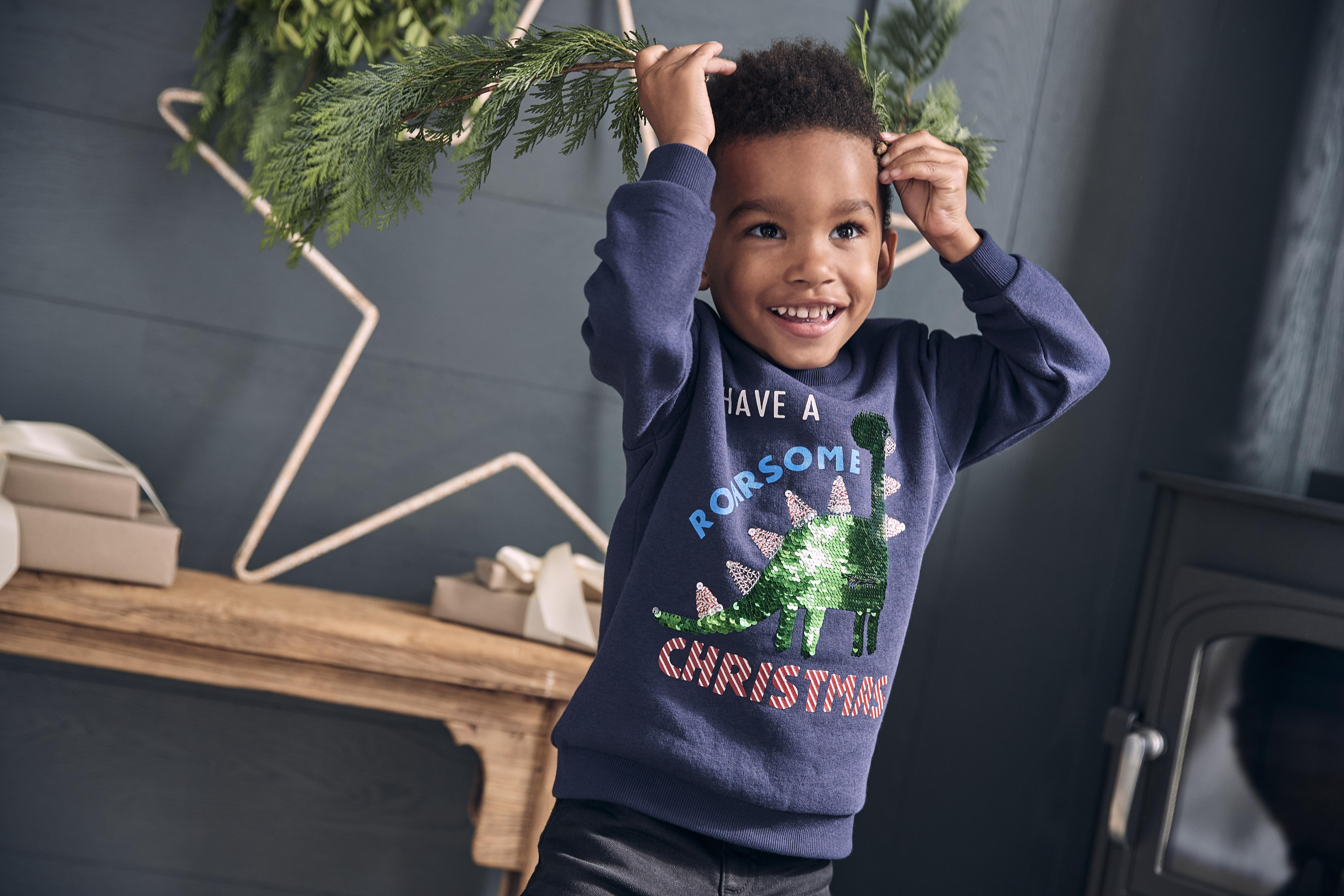 Here's how you can tempt little ones into joining in with Christmas jumper day