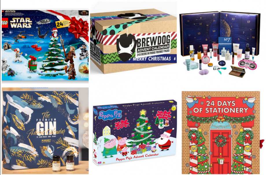 The best non-chocolate advent calendars for 2020