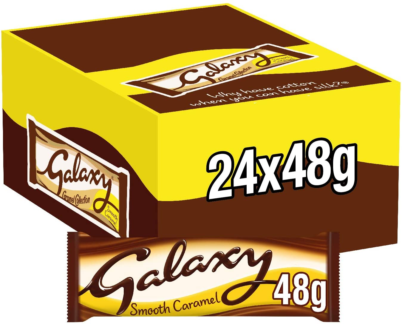 Everyone needs these amazing bulk boxes of Galaxy in their lives