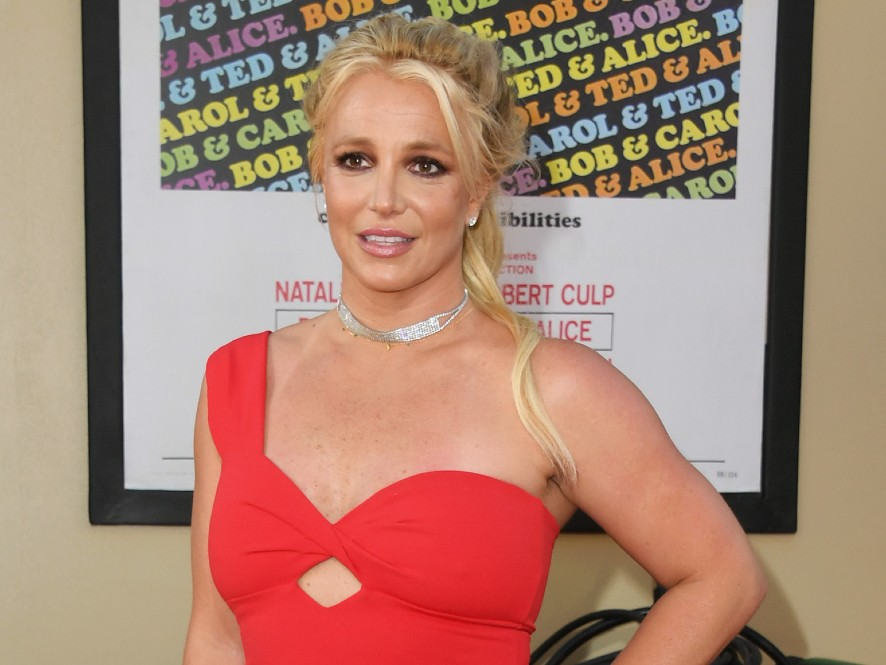 Britney Spears attends Sony Pictures'