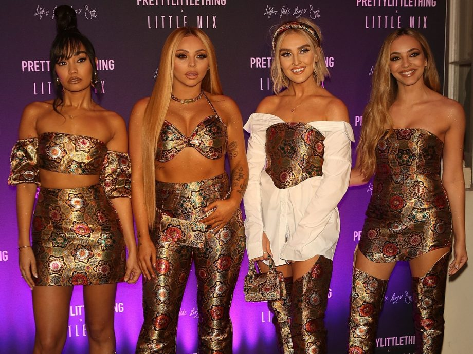 Little Mix at the launch of their collection with Prettylittlething