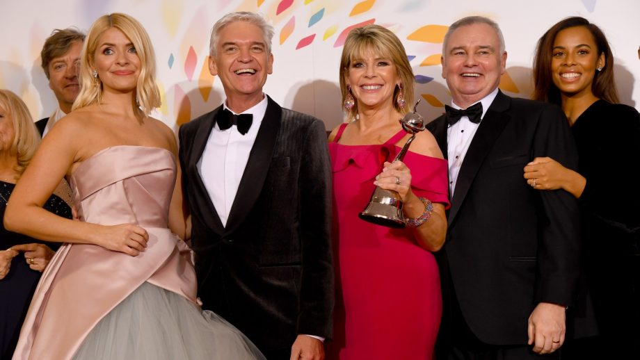 This Morning hosts Holly Willoughby, Phillip Schofield, Ruth Langsford, Eamonn Holmes, and Rochelle Humes
