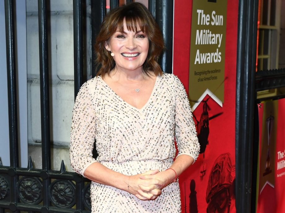 Lorraine Kelly attends The Sun Military Awards 2020