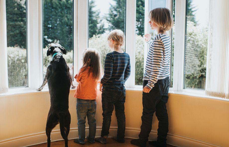 kids in lockdown