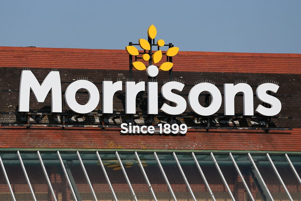 Christmas Delivery, Morrisons