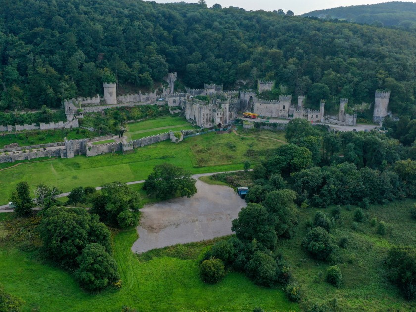 Gwrych Castle, where I'm A Celebrity is being filmed