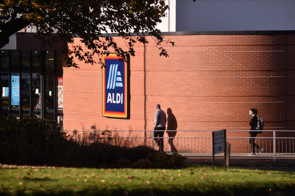 Christmas Click and Collect, Aldi