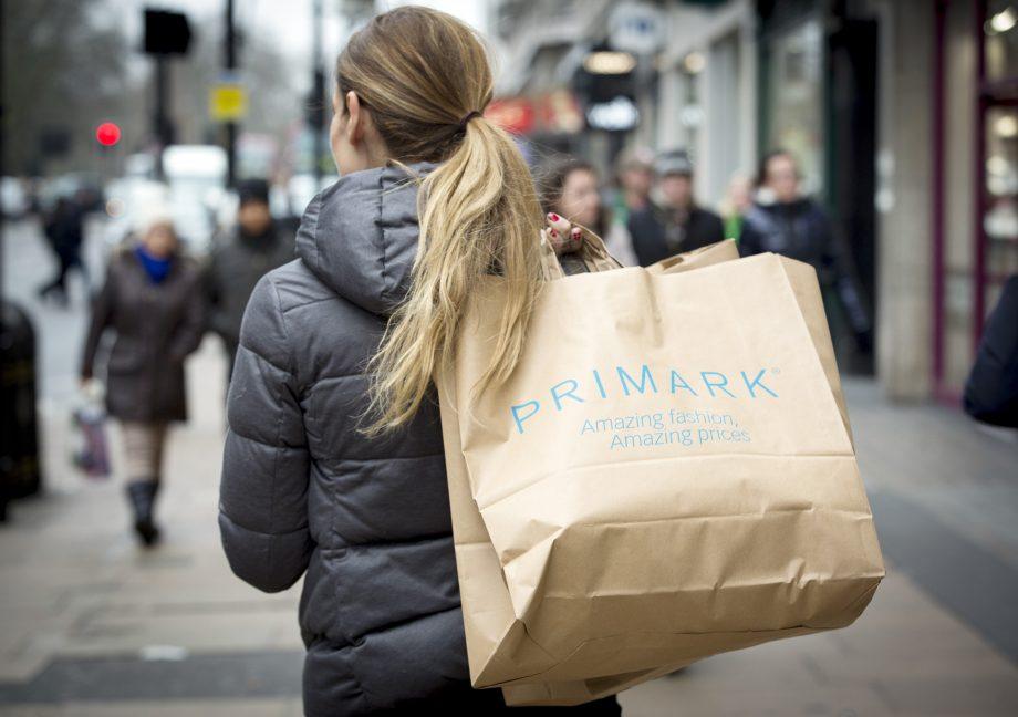 Primark bag Christmas
