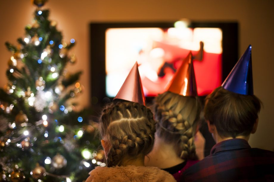 Children watching the best Christmas adverts 2020