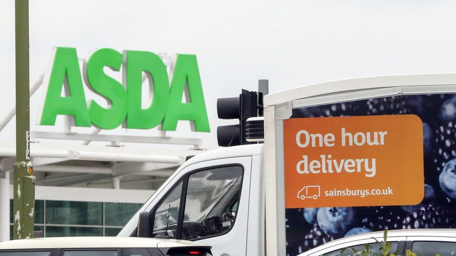 Asda and Sainsbury's, delivery prices