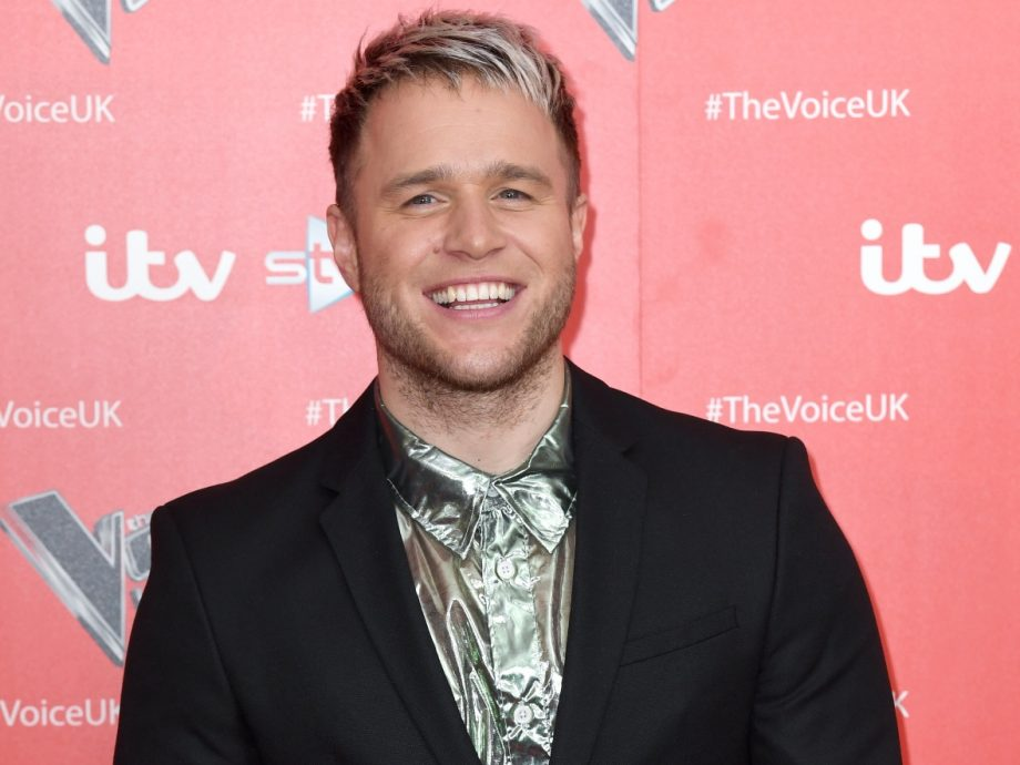 Olly Murs at The Voice series 9 launch