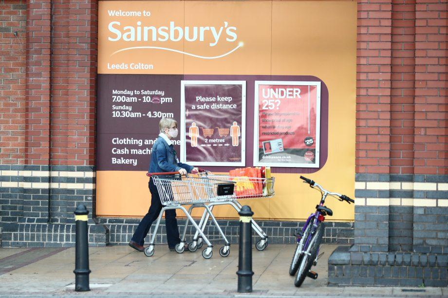 Supermarkets lockdown