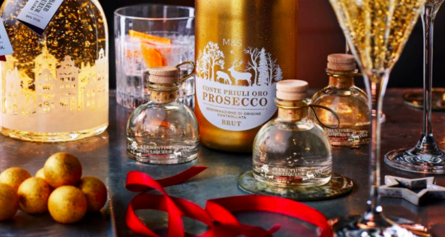 M&S Christmas gin is flying off the shelves - and there's now a buying limit