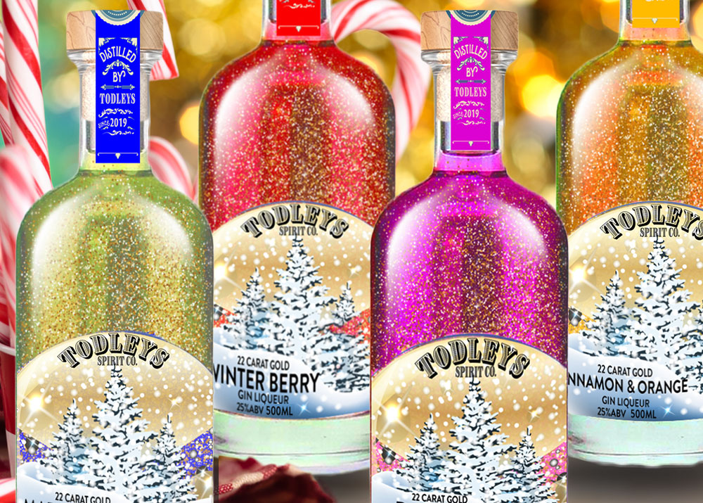 These beautiful gin snow globe bottles will make Christmas complete this year