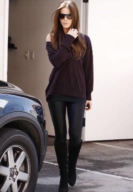 Street Style - Kate Beckinsale in LA