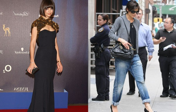 Top Star Style Transformations Of 2008! - Katie Holmes - 7