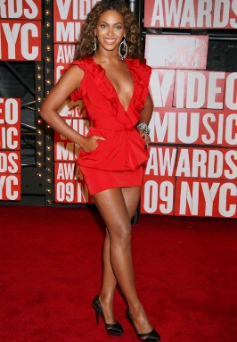 Best Dressed At The MTV Music Awards 2009 - Beyonce Knowles At The MTV Video Music Awards  - 11