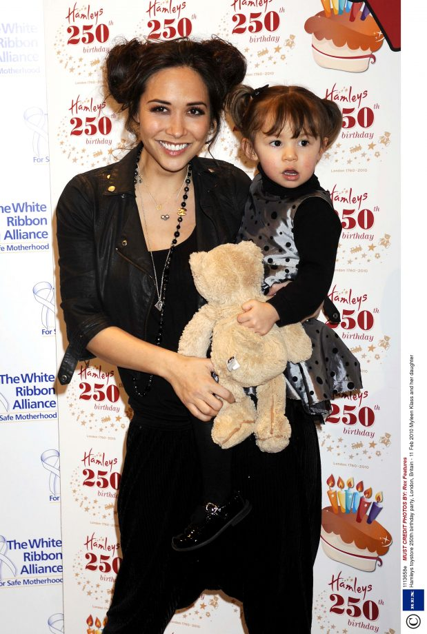 Myleene And Ava Klass Step Out With Matching Hairstyles At Hamley's 250th Birthday Party