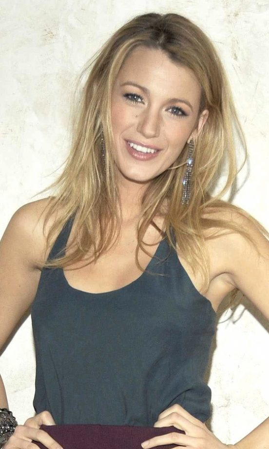 Blake Lively At The Barlow Launch In New York, February 2010