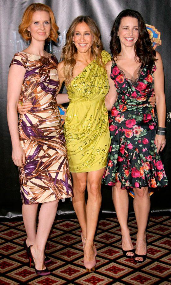 Sarah Jessica Parker, Cynthia Nixon And Kristin Davis At The Showest 2010 Awards Gala, Las Vegas