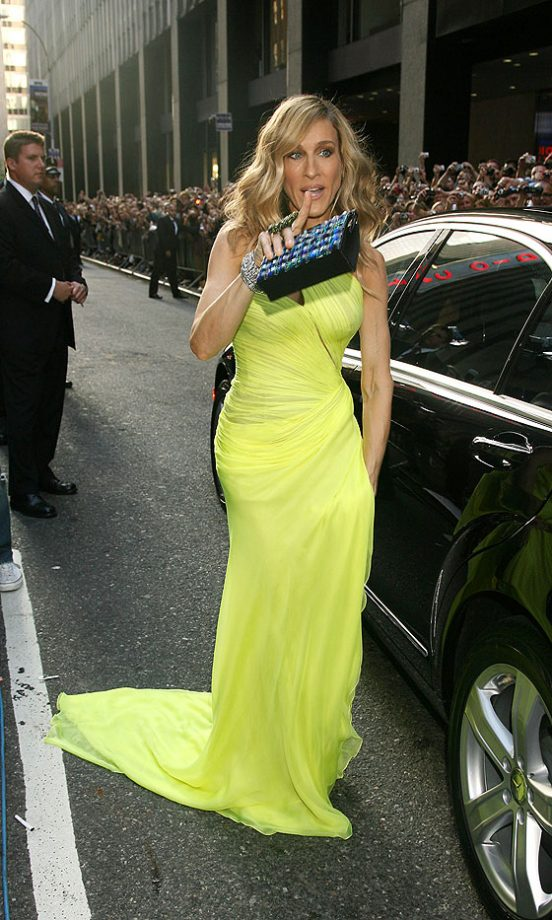 Sarah Jessica Parker Arrives At The Sex And The City 2 Premiere In New York, 2010