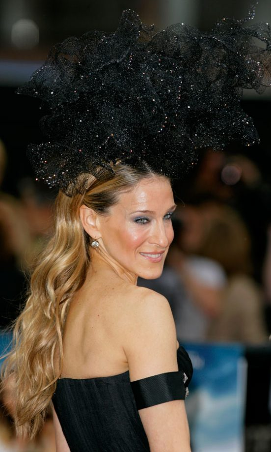 Sarah Jessica Parker Wearing A Philip Treacy Hat At The Sex And The City 2 London Premiere, 2010