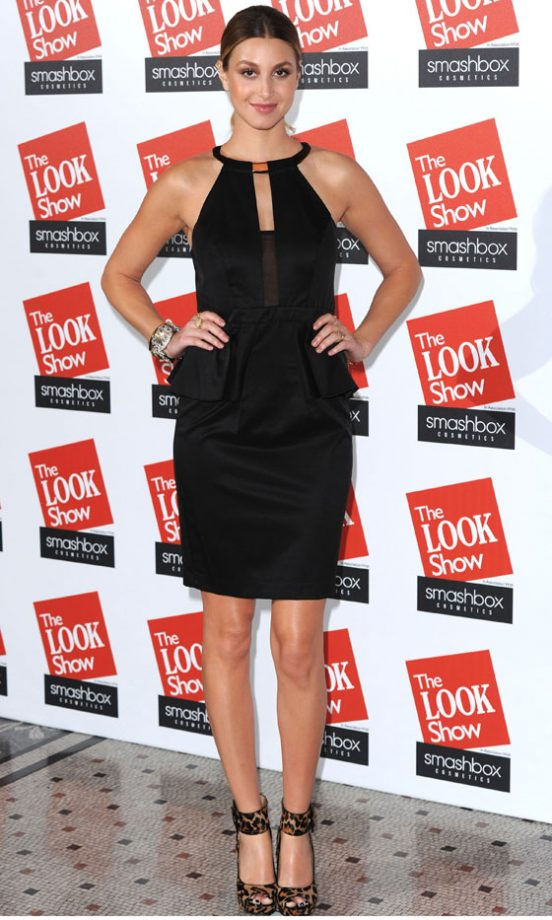 Whitney Port At The LOOK Show AW12