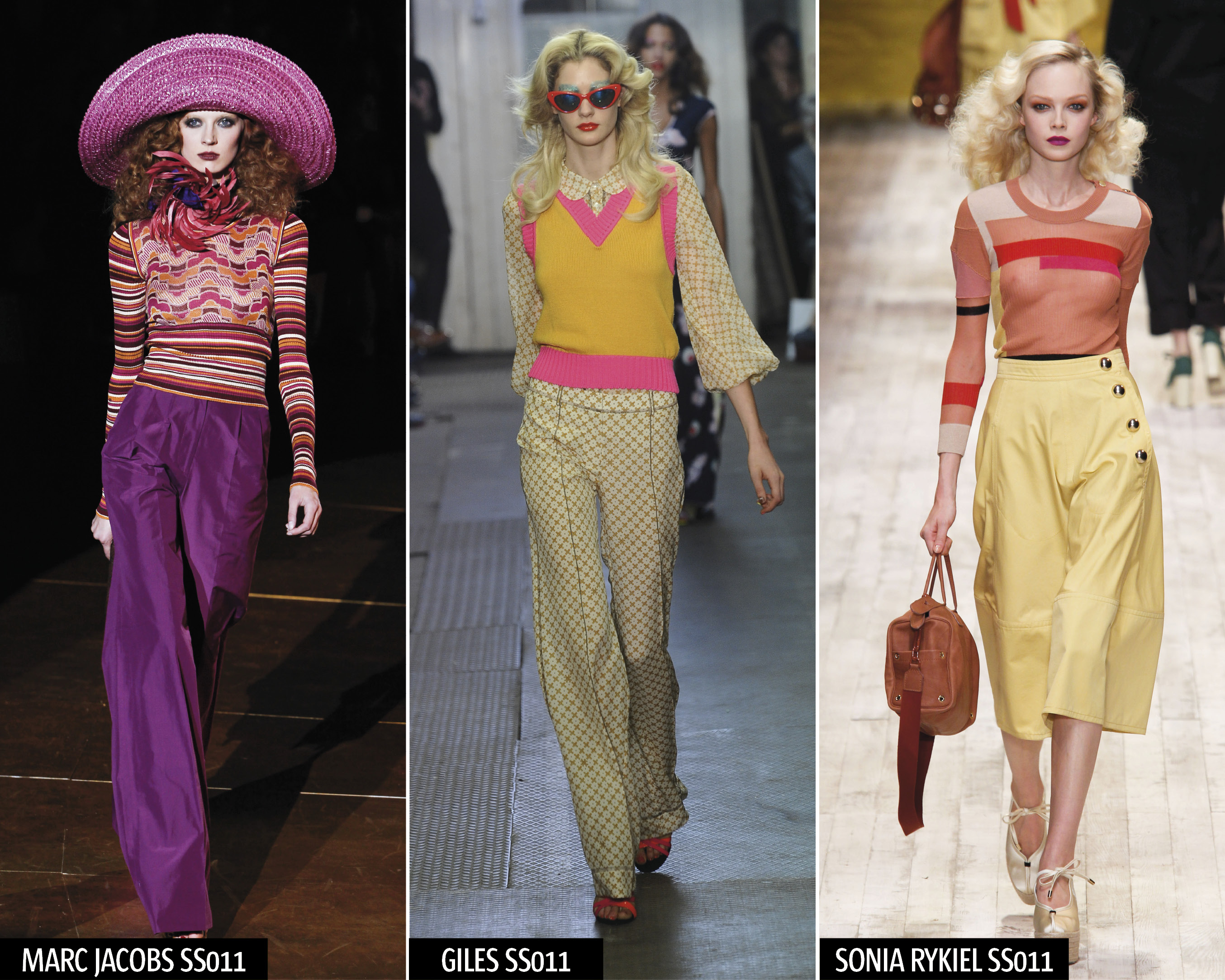 Hot Spring Fashion Trend 70s Chic Look