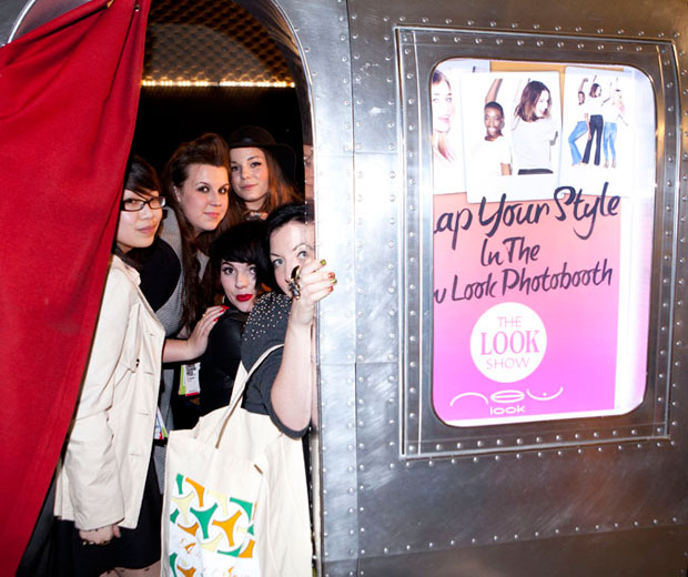 Are you in the picture? See all the snaps from The LOOK Show SS11 photbooth