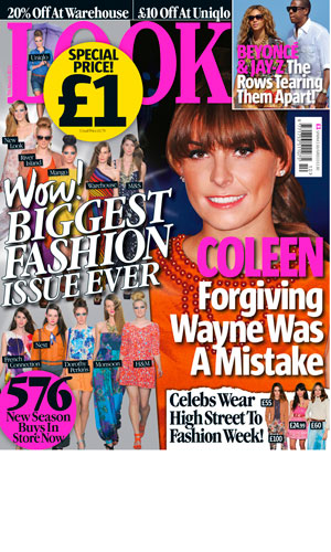 Coleen Rooney on tomorrow's LOOK magazine cover