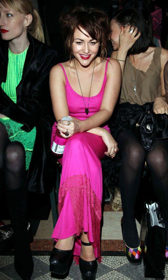Jaime Winstone At The Giles Autumn/Winter 2011 Fashion Show