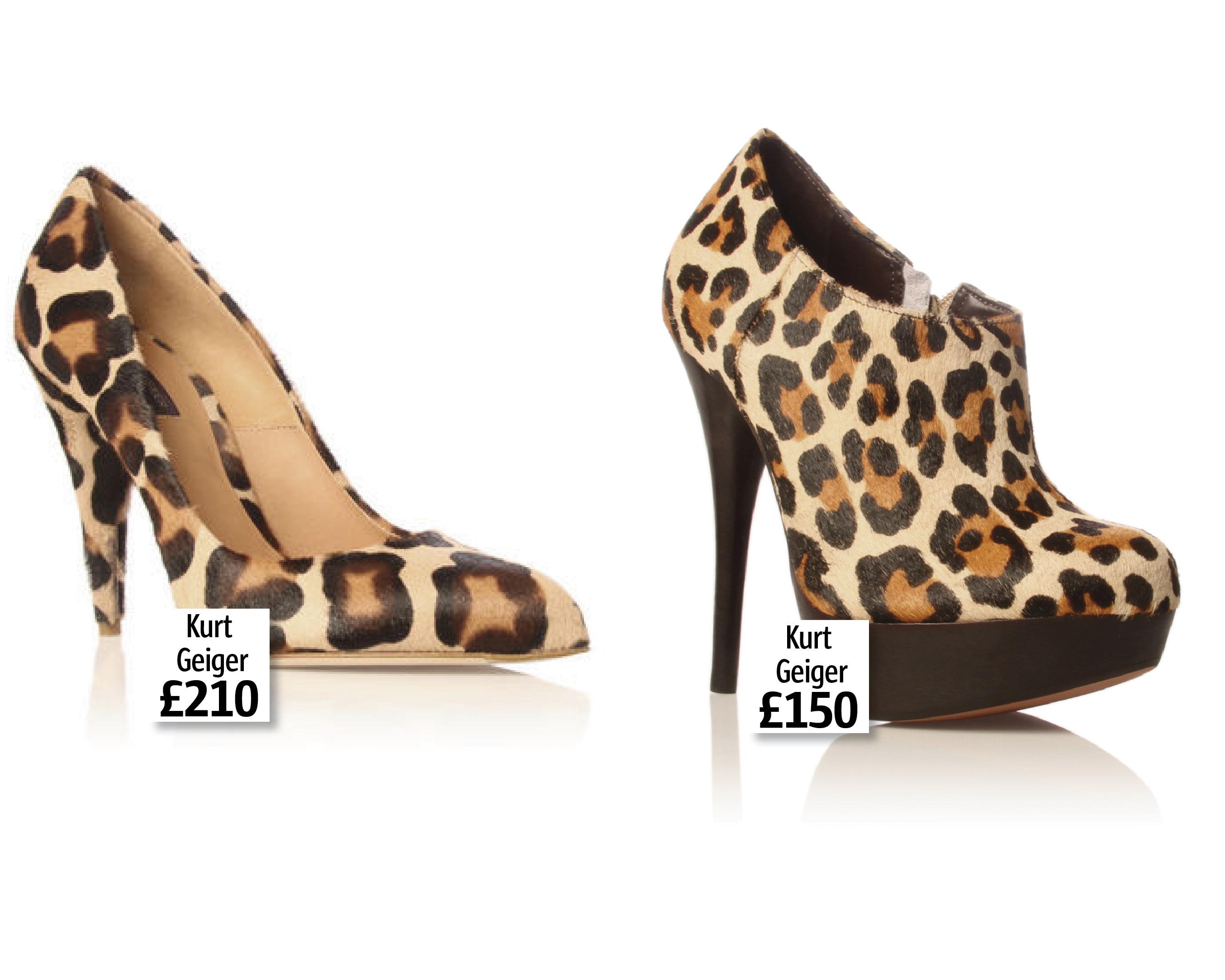 new design uk cheap sale buy best LOOK Loves: Kurt Geiger's Fab Leopard-Print Shoes   Look