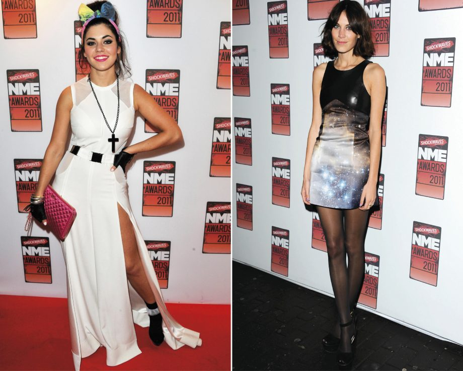 We get all the backstage and style gossip from Marina Diamandis and Alexa Chung at the NME Awards 2011