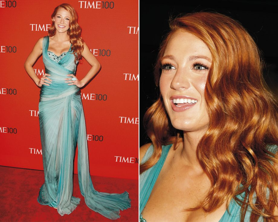 Blake Lively Ditches The Blonde Look