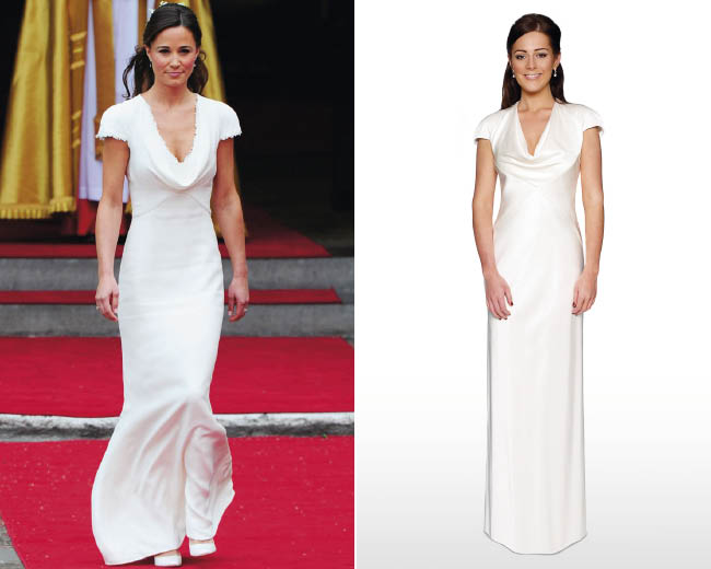 Get Pippa Middleton S Iconic Bridesmaid Dress At Debenhams For A Fraction Of The Price