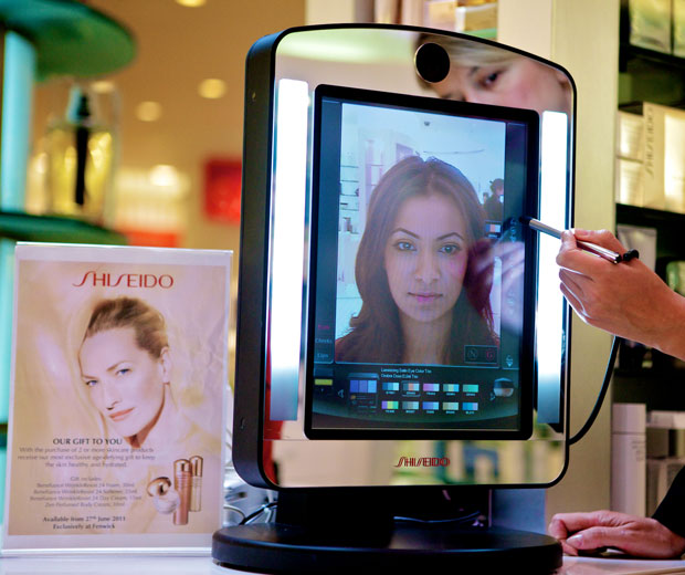Get A Free Virtual Makeover With Shiseido Look