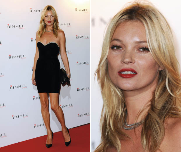 Kate Moss kicks off London Fashion Week with a party to celebrate 10 years of Kate Moss and Rimmel in London