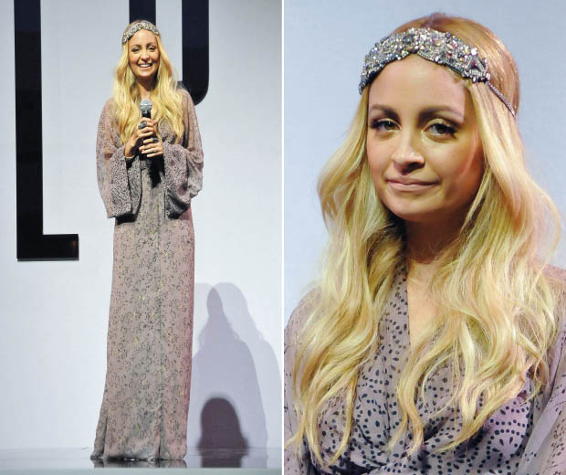 Nicole Richie at New York's Fashion Night Out