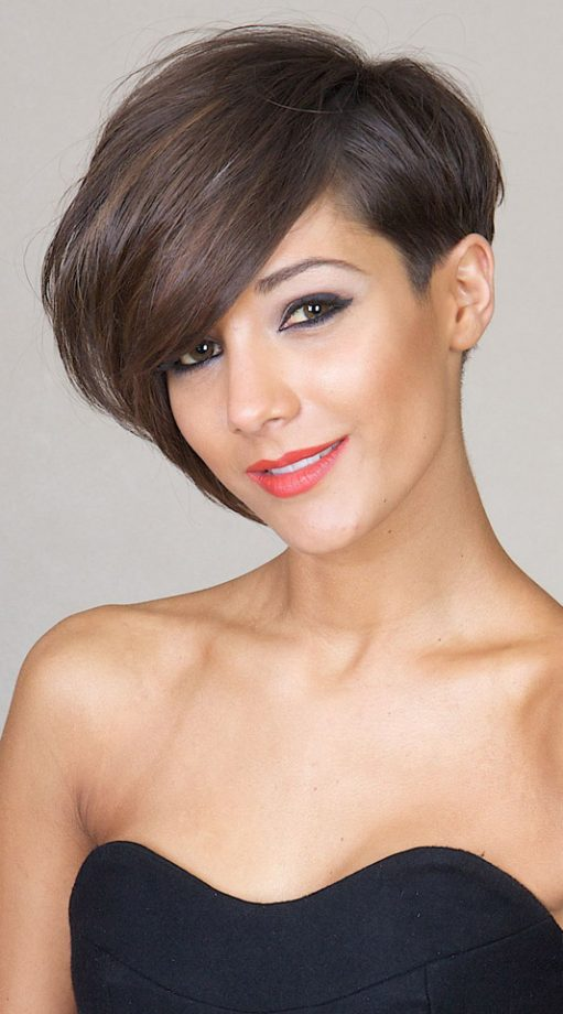 Frankie Sandford Goes For A Super Sleek Hairstyle Rochelle Wiseman S 21st Birthday Party