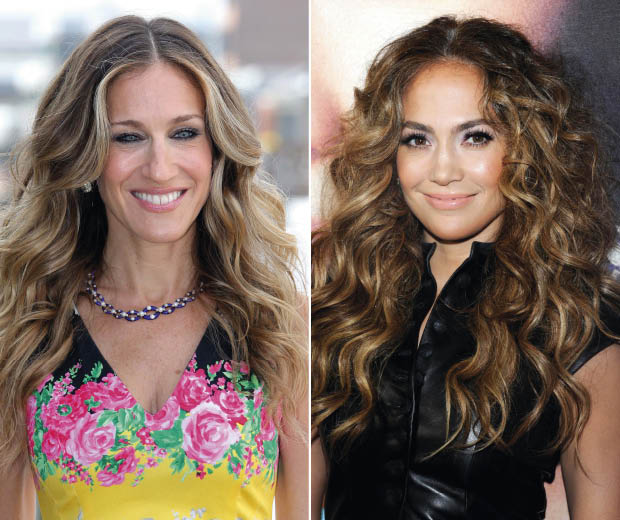 Get your wave on like SJP and J Lo