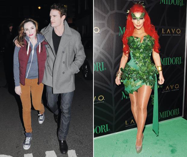 loving kelly brook and kim kardashian s halloween costumes look
