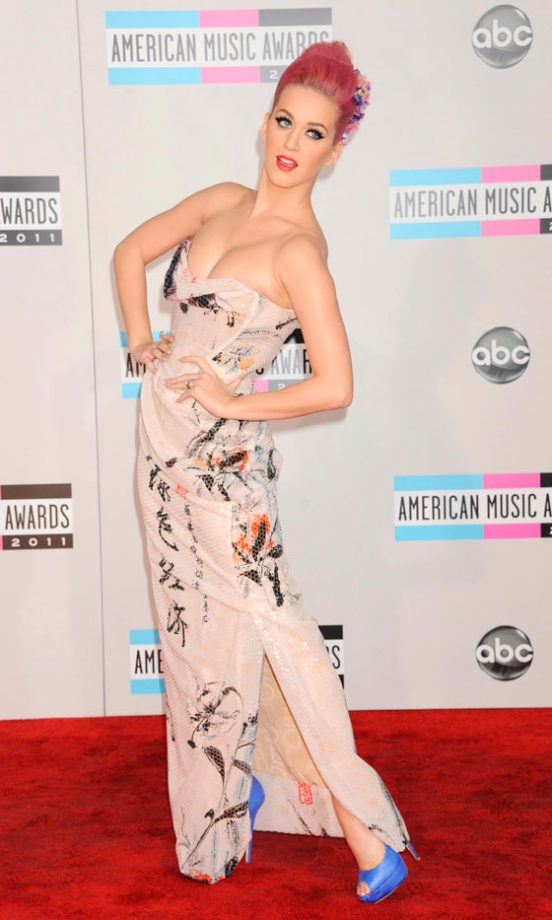 Katy Perry At The American Music Awards, 2011