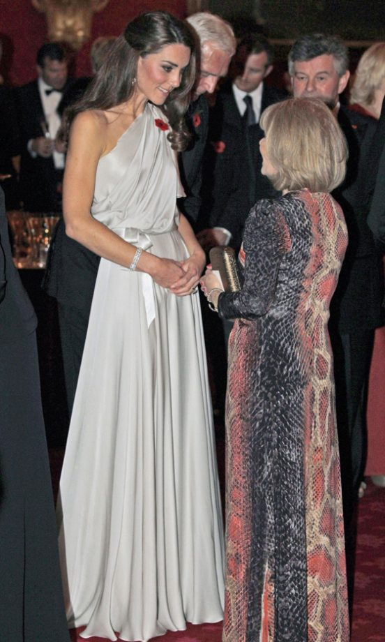 Kate Middleton Wowed In A Jenny Packham Grecian-Style Dress At St James's Palace, 2011
