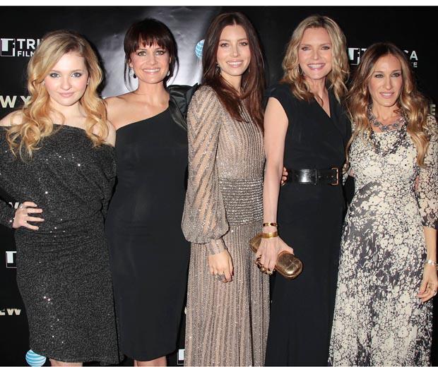 AbigailThe New Year's Eve Premier Abigail Breslin, Carla Gugino, Jessica Biel, Michelle Pfeiffer and Jessica Parker