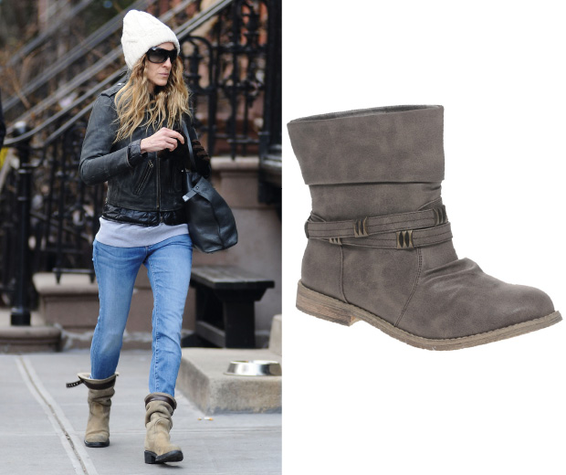 These Office boots are a lookalike for Sarah Jessica Parker's and are only £30 in this offer – get them now!