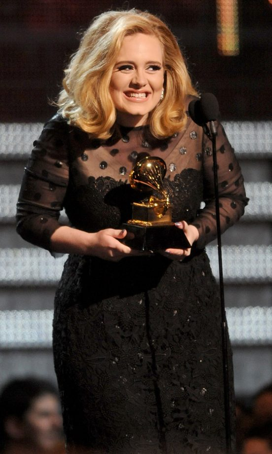 Adele Won Six Awards At The Grammys 2012